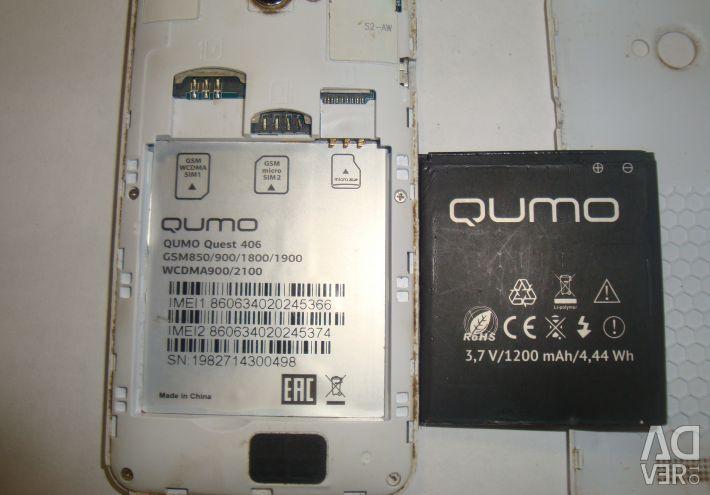 Qumo quest 406 - repair