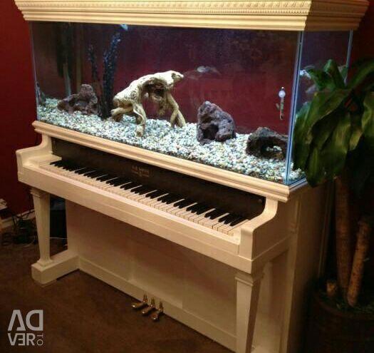 Аквариум/террариум из пианино.ручная работа.новый
