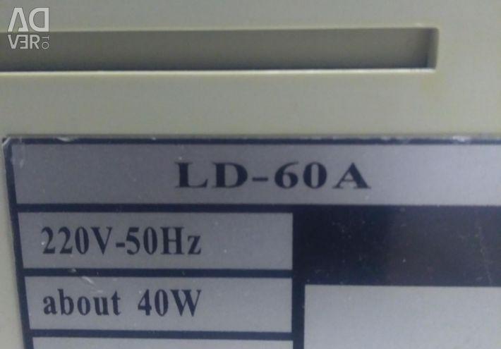 Μετρητής τραπεζογραμματίων LD-60a