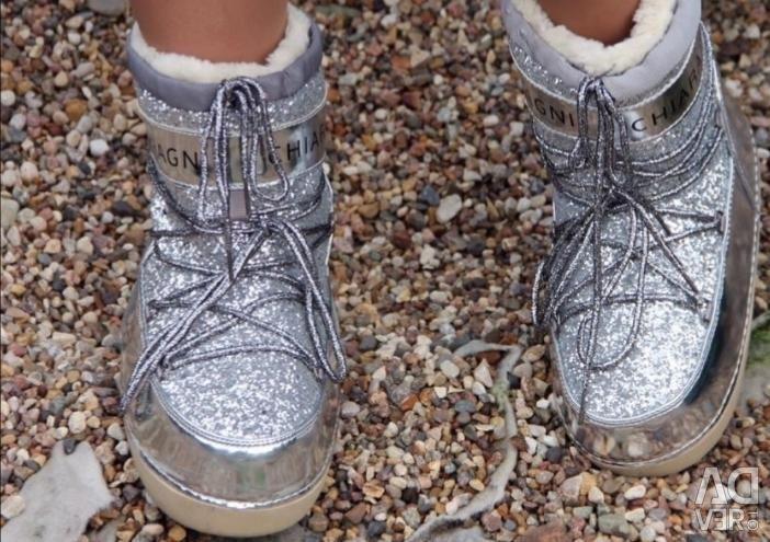 Місяцеходи (чоботи зимові) жіночі