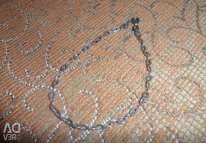 Серебро браслет и серьги