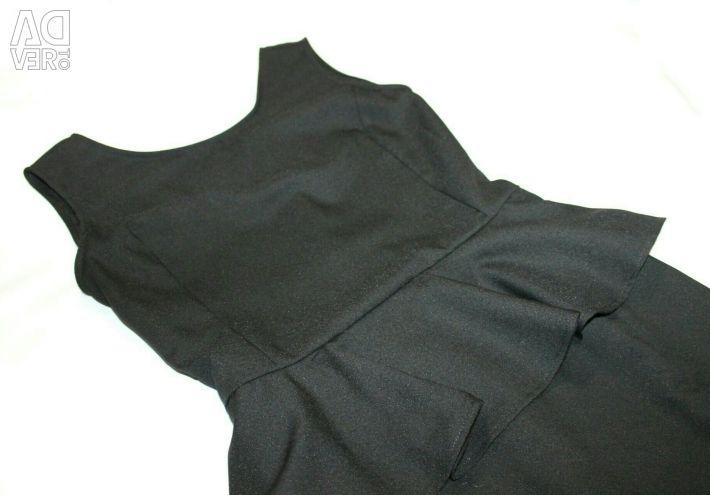 Rochie neagră de dimensiune 46-48