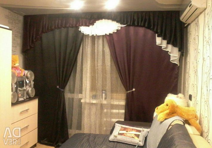 Posh Curtains + Lambrequin /