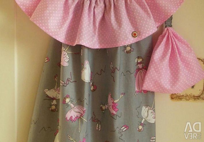 Rochie de vară și eșarfă