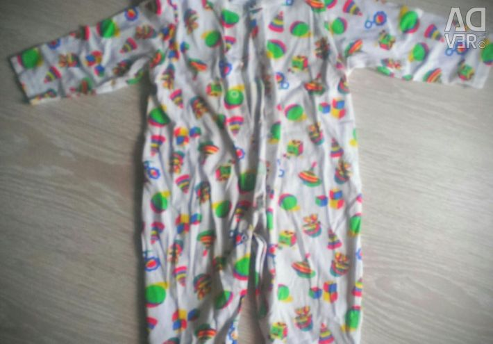 Clothing for girls up to a year