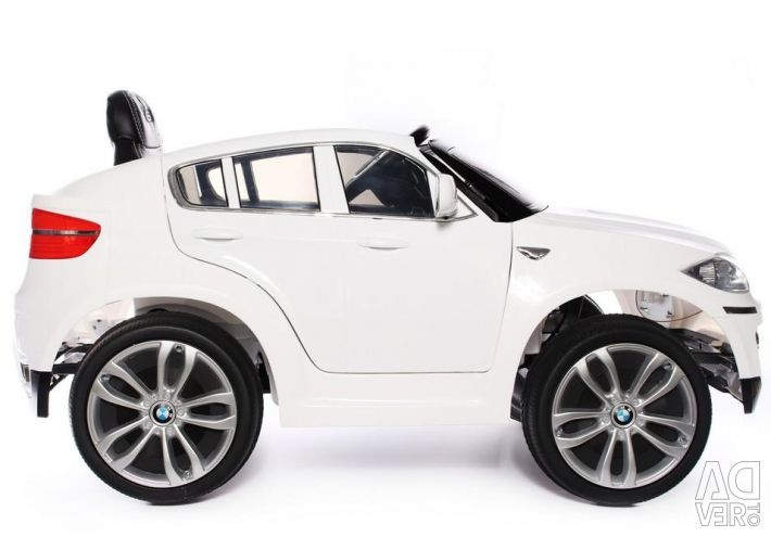 Children's electric car BMW X6 Original White