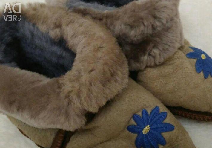 Chuni natural sheepskin R.22-24