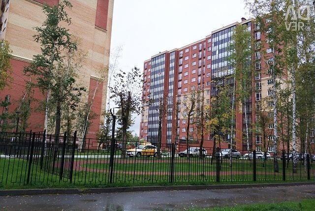Apartment, open plan, 34.1 m²
