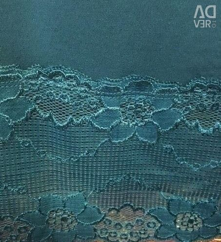 T-shirts with lace, England, new