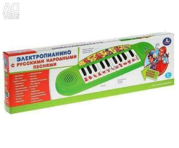 Piano 21 children's Russian folk song
