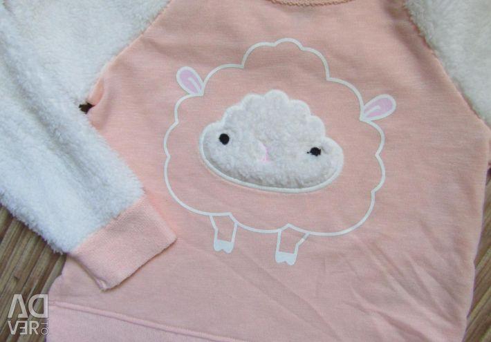 Κορίτσι 3-5 ετών παλτό φούστα μανικιούρ Carters