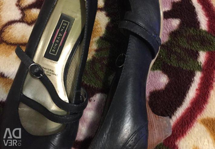 Δερμάτινα παπούτσια, μέγεθος 37,5-38