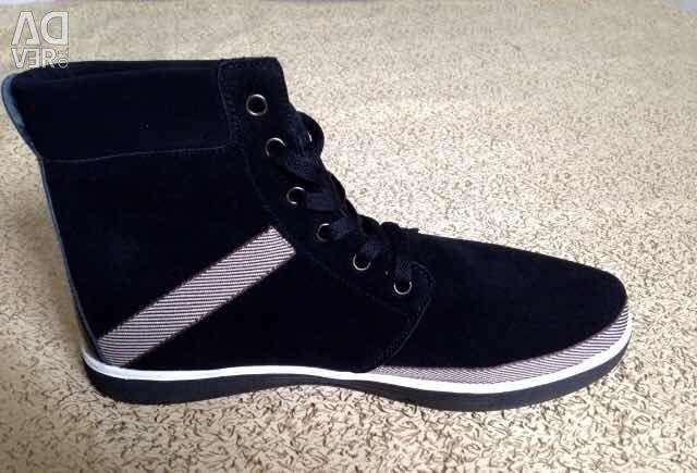 Adidasi noi de iarnă pe blană