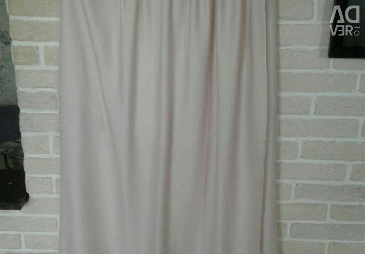 Massimo Dutti silk skirt