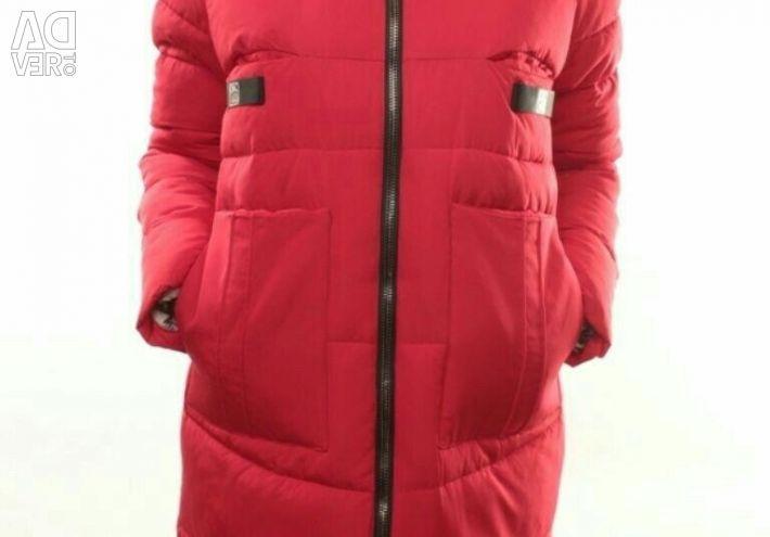 Удлиненная зимняя женская новая куртка
