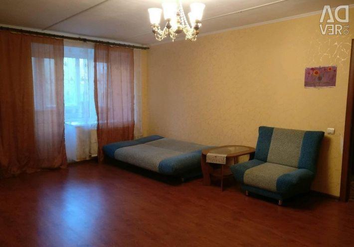 Apartment, 1 room, 36.8 m²