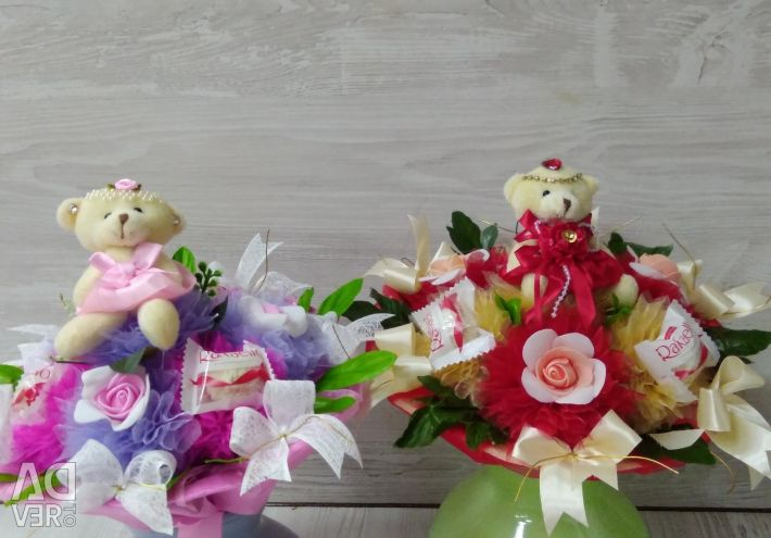 Children's bouquets from toys to order ...