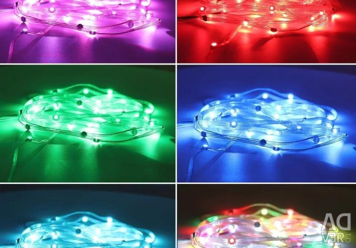 WS2812B 5m 5V LEDs built-in SMD5050 RGB but