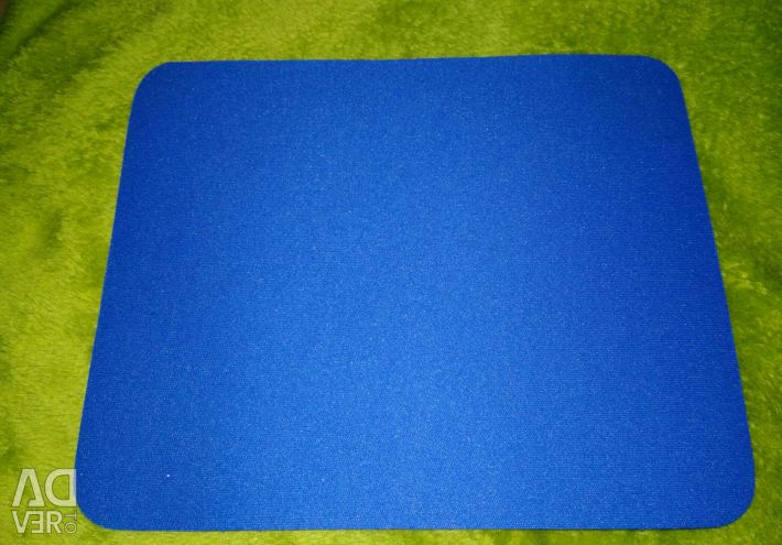 New blue mouse pad