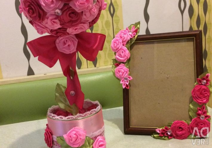 Photoframe and Topiary