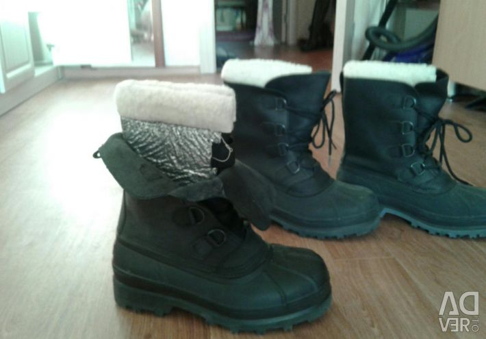 Boots for winter Yamal