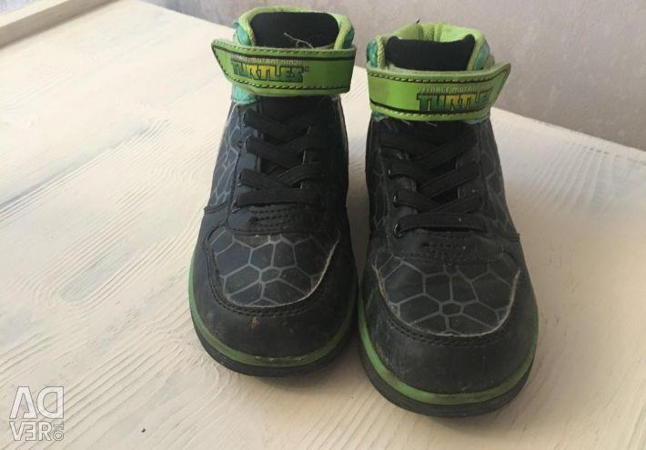 Sneakers of the ninja turtle