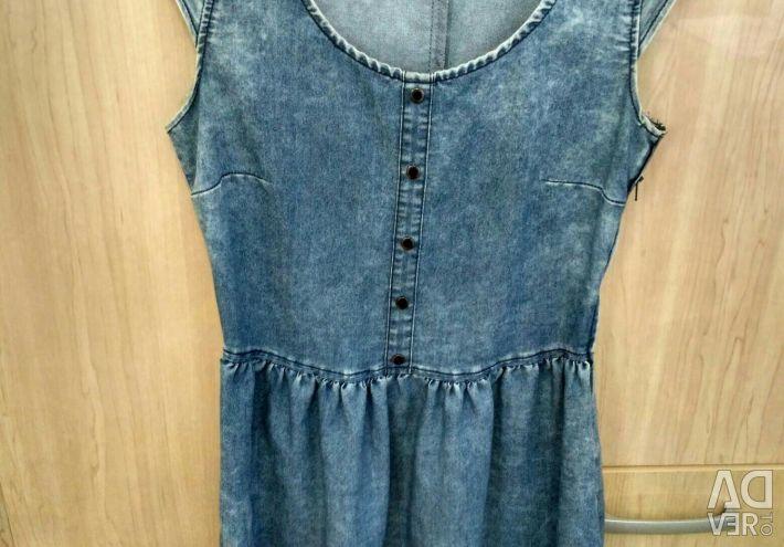 Φόρεμα φόρεμα denim 40-42 μέγεθος