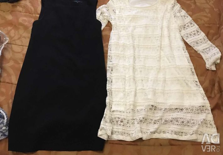 Dresses 48 and 42 p