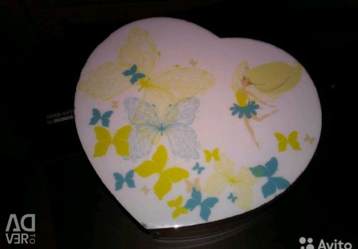 Casket heart Gift for the girl