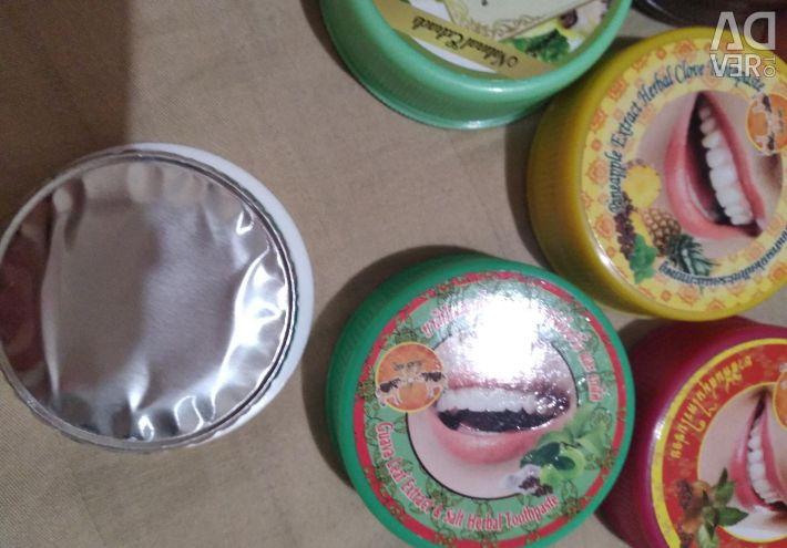 Οδοντόκρεμα. Ταϊλανδικά καλλυντικά