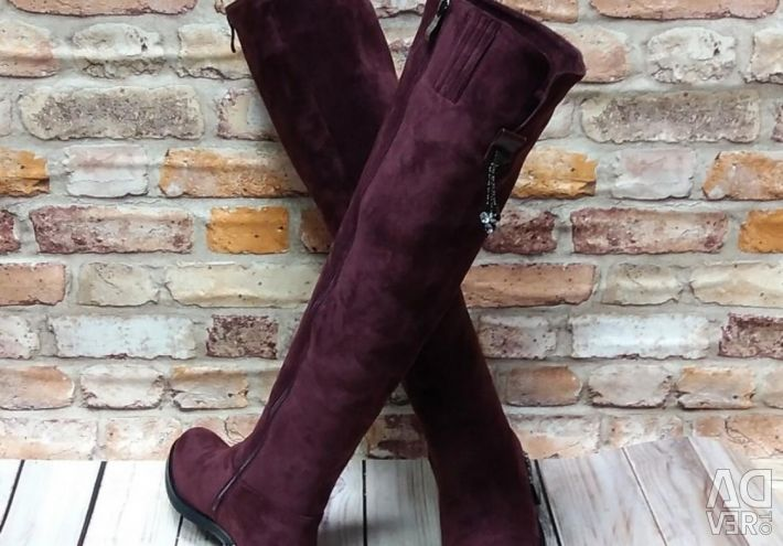 Bocanci de iarna cizme de piele