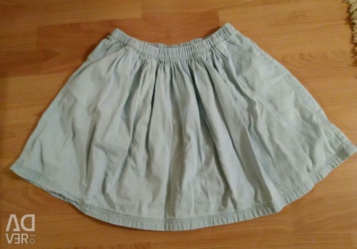 Skirt for the girl 146-152