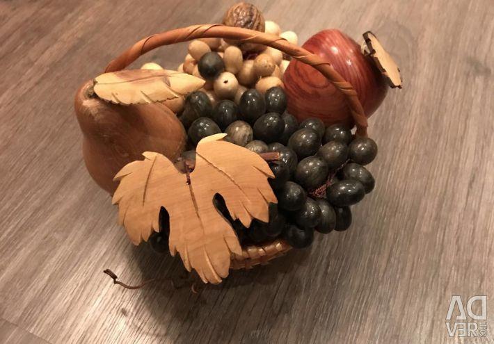 Basket interior 20/20 cm, vase