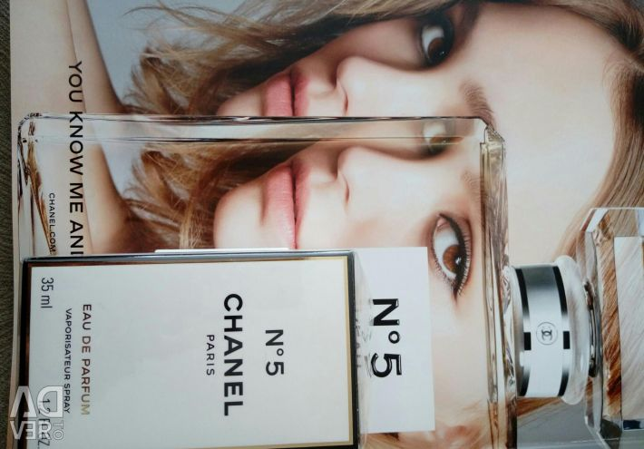 Perfume.water Chanel 5, 35 ml πρωτότυπο