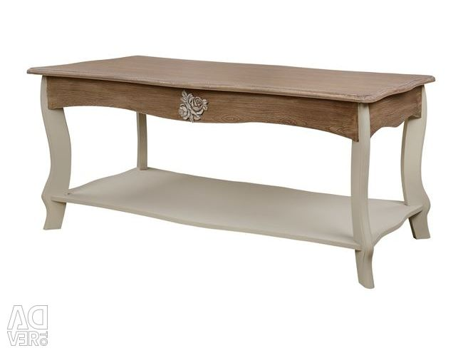 MELODY LIVING TABLE HM7013.01EKROU COFFEE PATINA