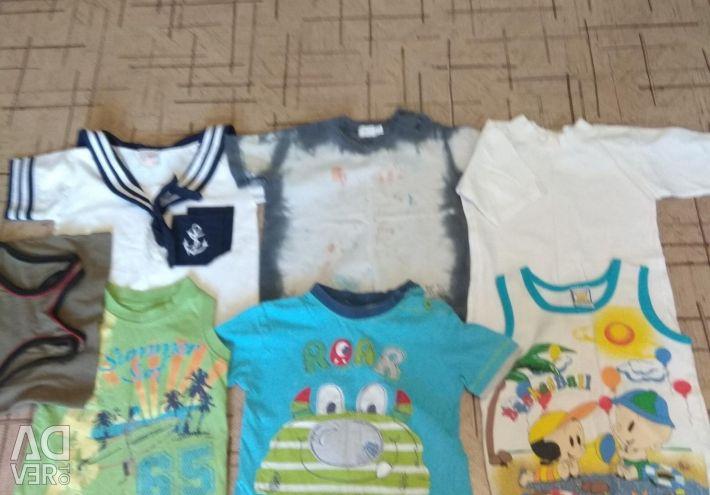 Шортики и футболки