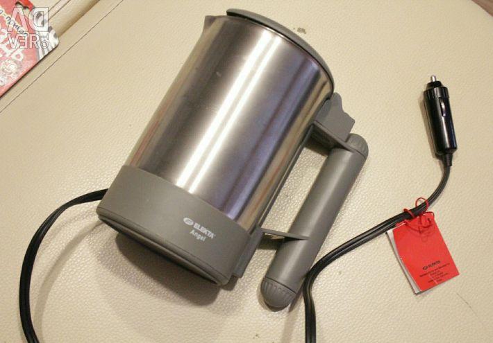 Cigarette lighter kettle