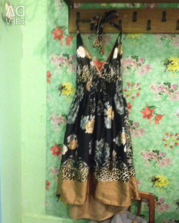 Φόρεμα με λουλούδια r. 44-46