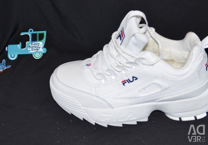 Sneakers Fila Disruptor 2 White Fur