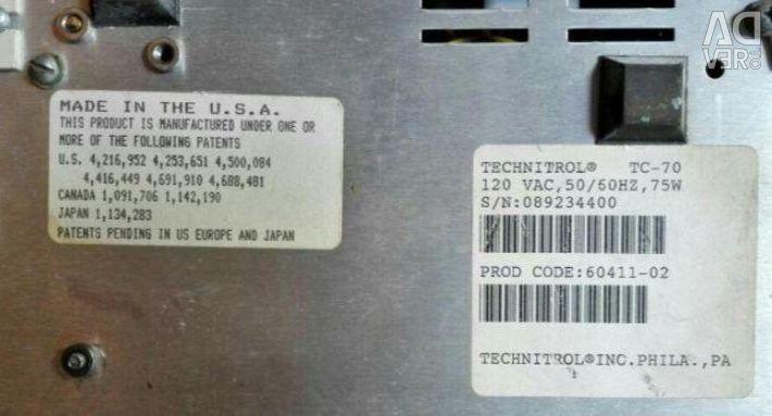 Banknote counting machine Technitrol TC-70 USA