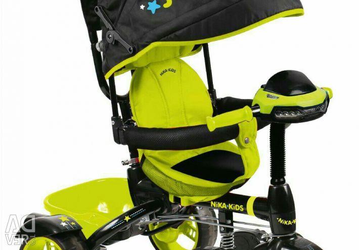 Bike Kids Nick Kids με κάθισμα στροφής
