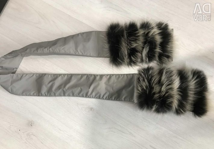 Winter jacket with natural fur