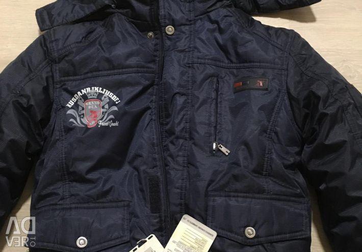 Winter jacket 134 new