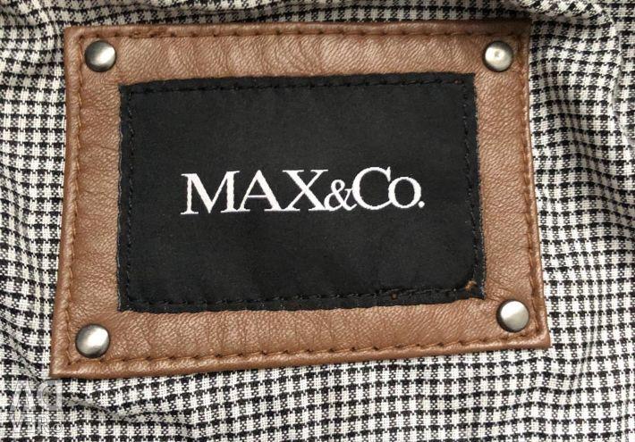 Δερμάτινο Μπουφάν MAX & Co