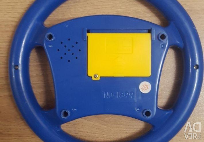 Musical steering wheel