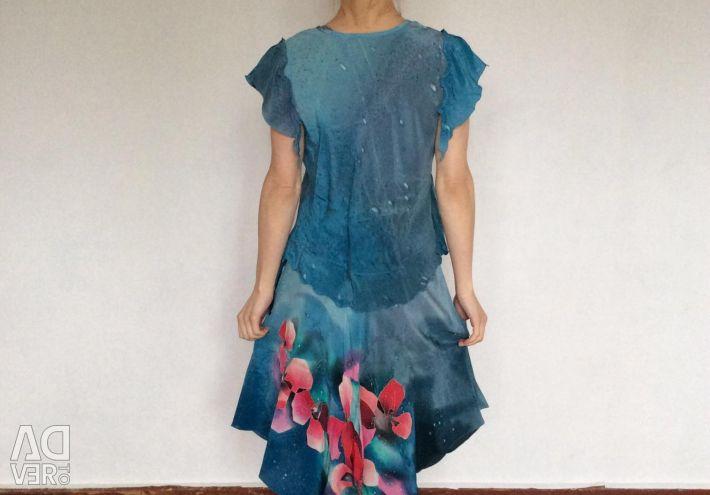 Κοστούμια σχεδιασμού από φυσικό μετάξι