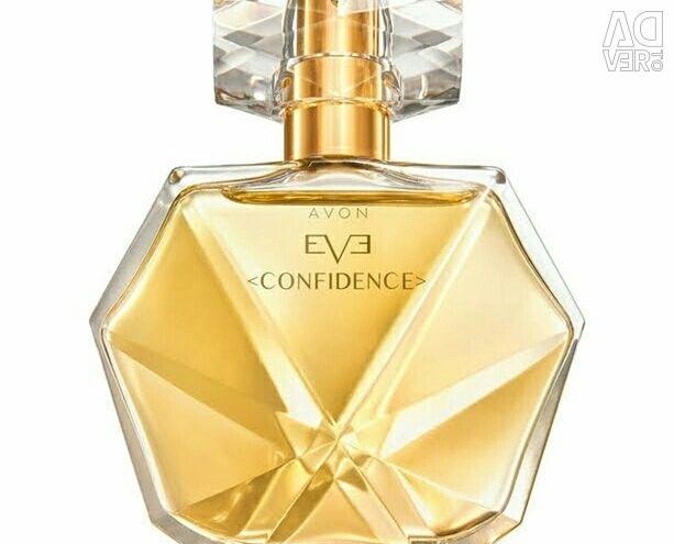 Perfume water EVE confidence