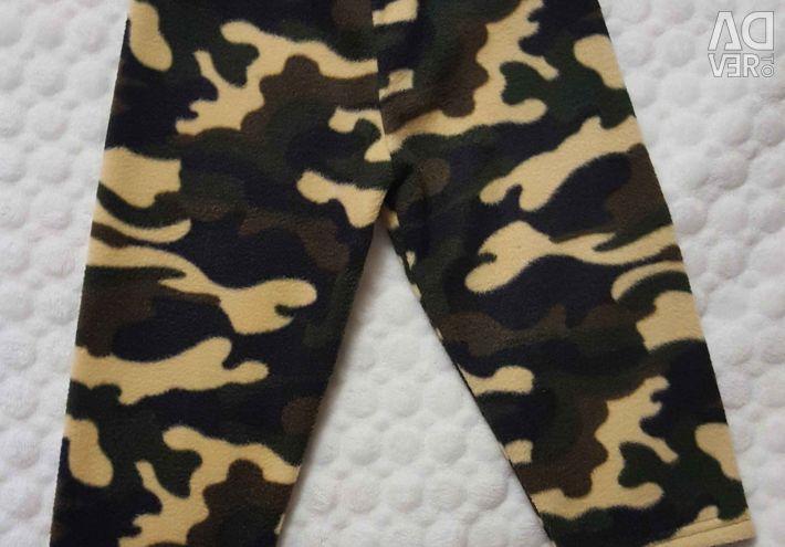 Pantaloni fleece marimea 92