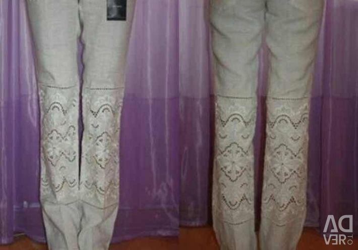 Παντελόνι νέα σεντόνια Dolce & Gabbana Italy μέγεθος 46 M έως