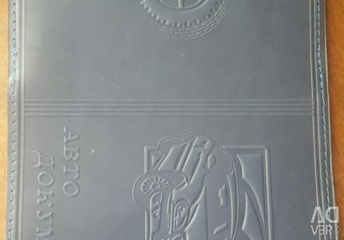 Double passport and document cover